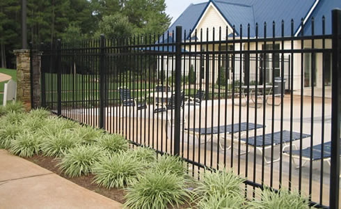 Steel Picket Fence Tangdu Fence Post Anchor Co